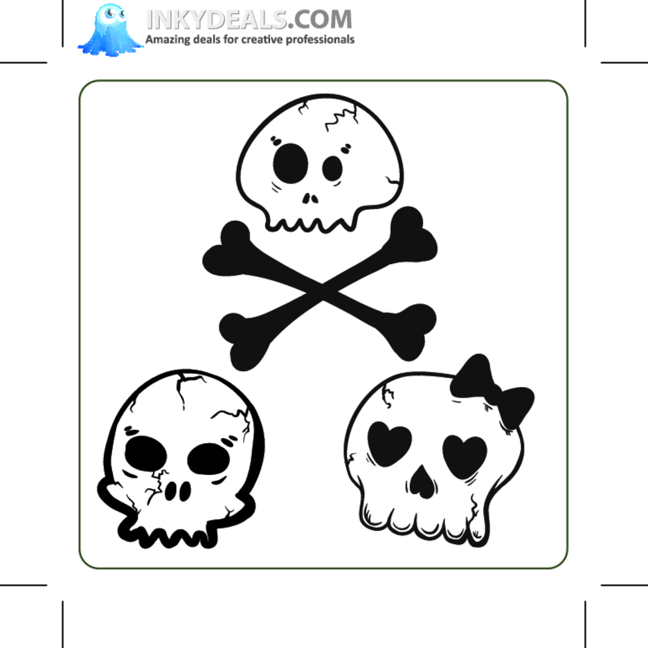 Emo Skulls 3