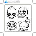 Emo Skulls 5