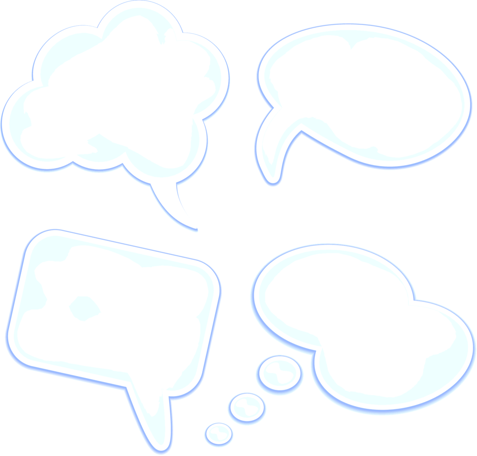 Stylish Speech Bubbles