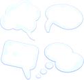 Stylish Speech Bubbles