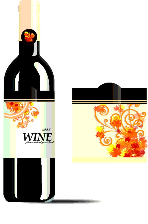 Free Vector Wine Bottel