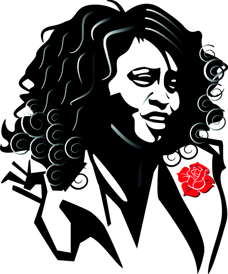 Whitney Houston Vector Image.
