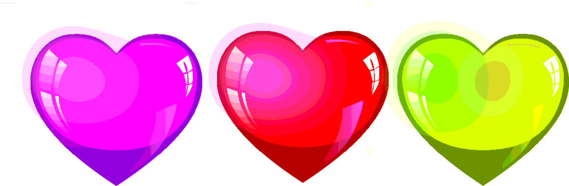 Cool Heart Vector