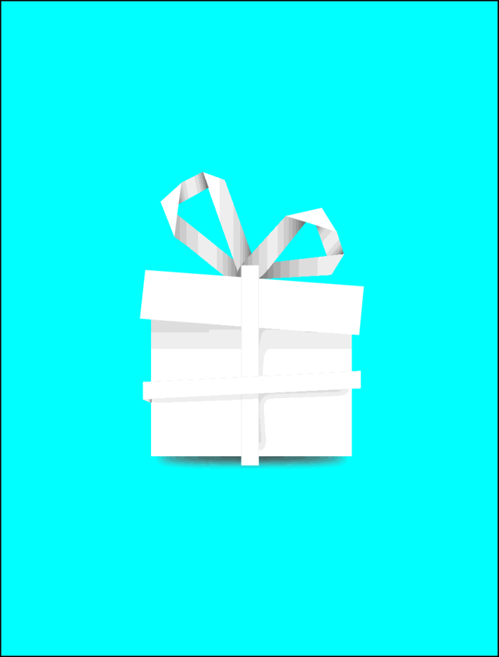 Free Vector Paper Gift Box