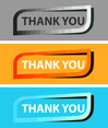 Free Vector Thank You Tag