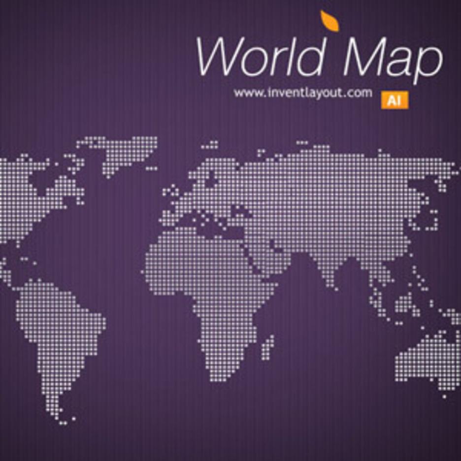 World Map - Invent
