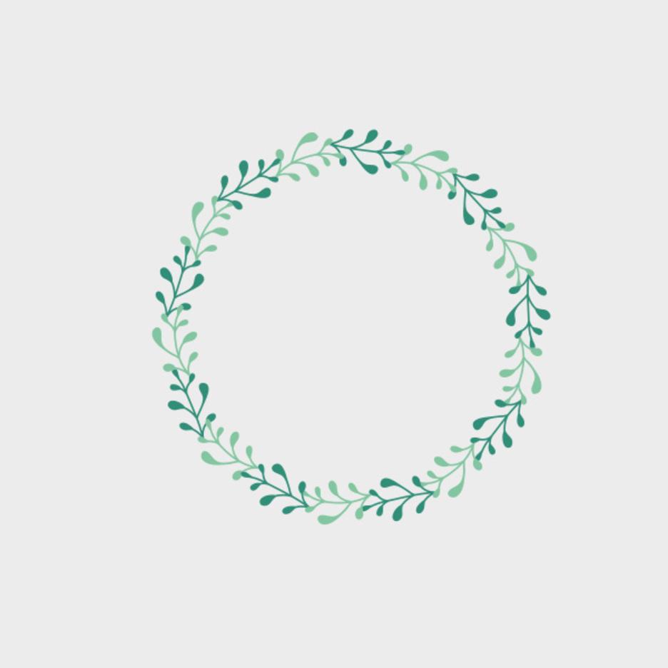 Free Vector Spring Frame