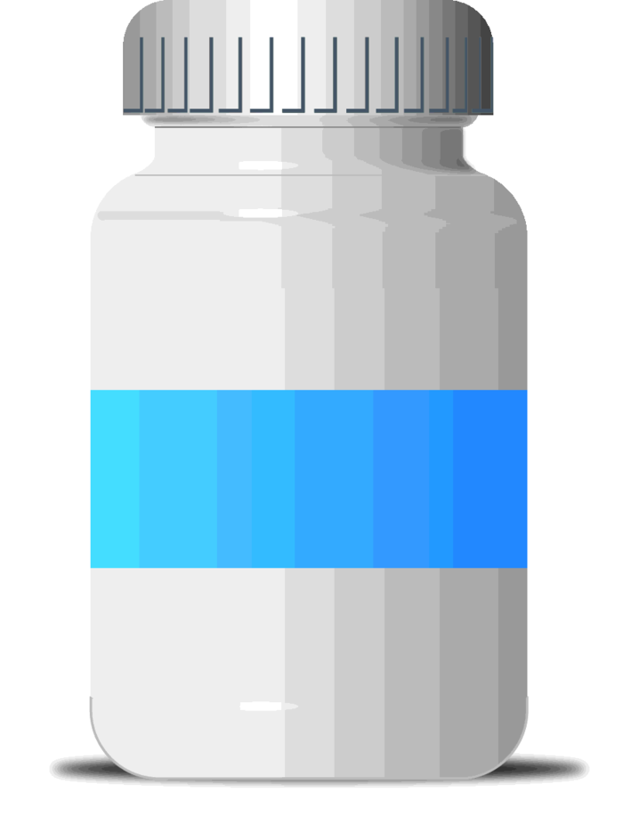 Free Vector Pill Bottle