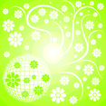 Floral Disco Ball