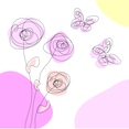 Spring Scribble Free Vector