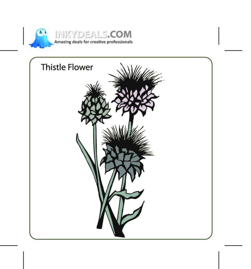 Http:www.allfreevectors.comThistle-flower-17155.html
