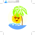 Japanese Summer Illustration