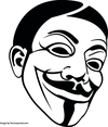 Guy Fawkes Vector Image