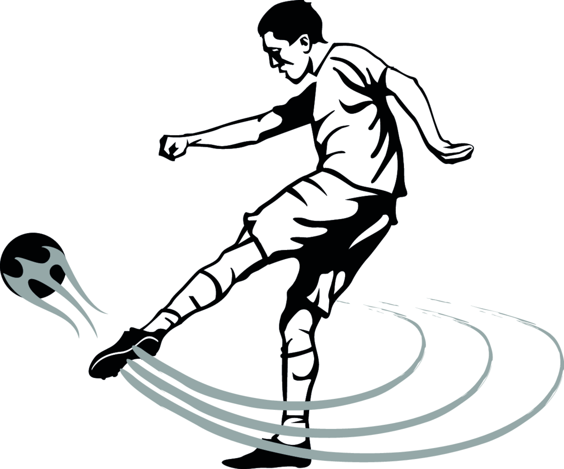Soccer Volley Shot Vector