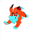 Rabbit Cartoon Character- Free Vector.