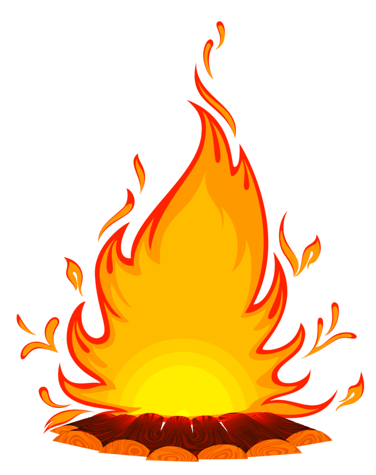 Bonfire Illustration