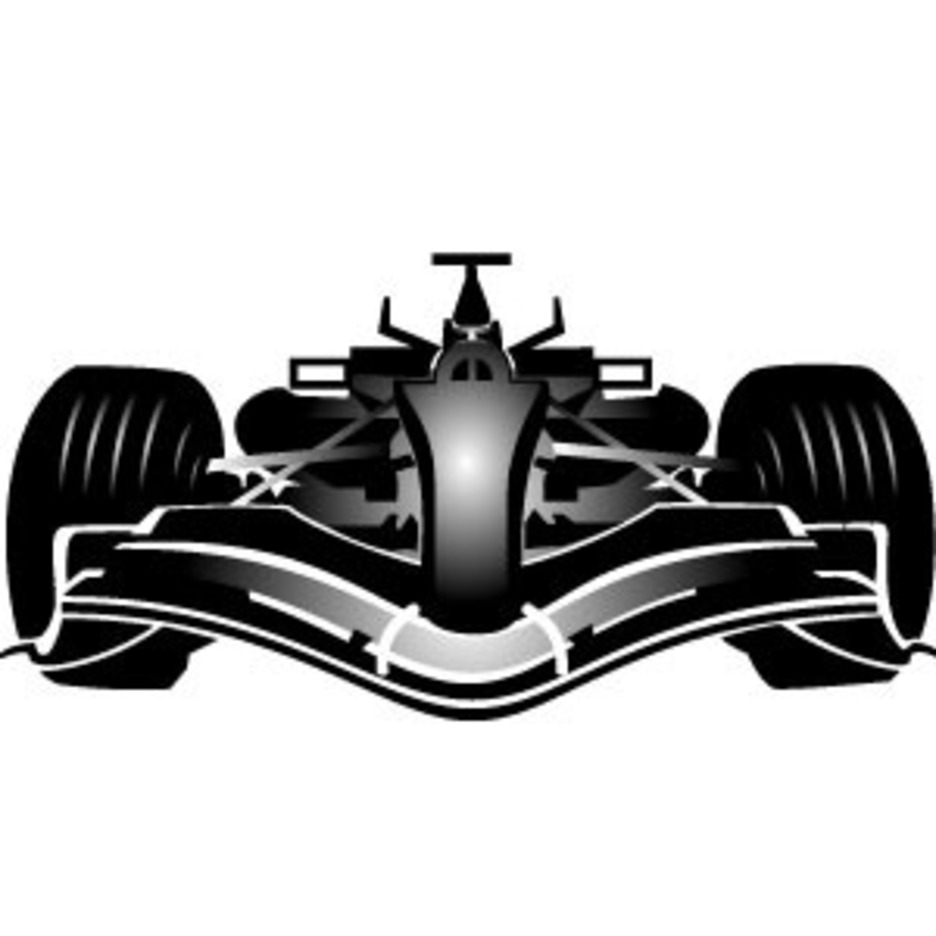 Formula One Car Vector