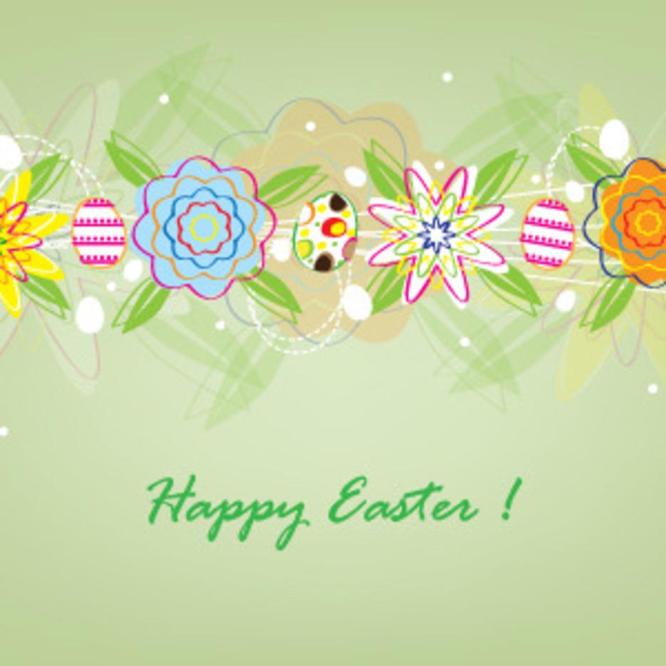 Sweet Easter Card Design