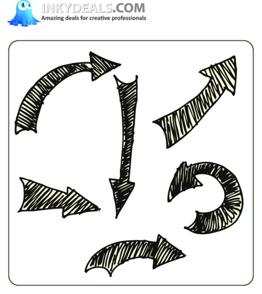 Doodle Arrows 1