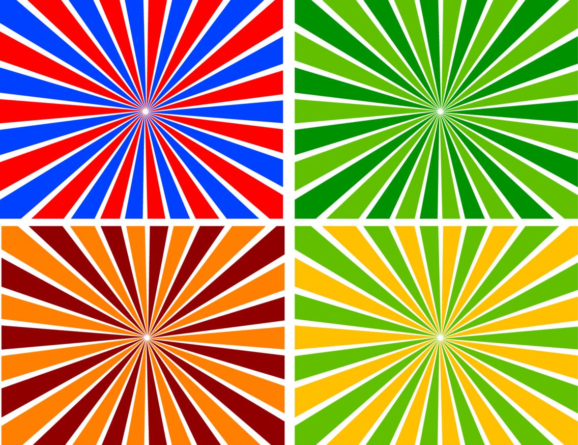 Sunbeams Background Vector