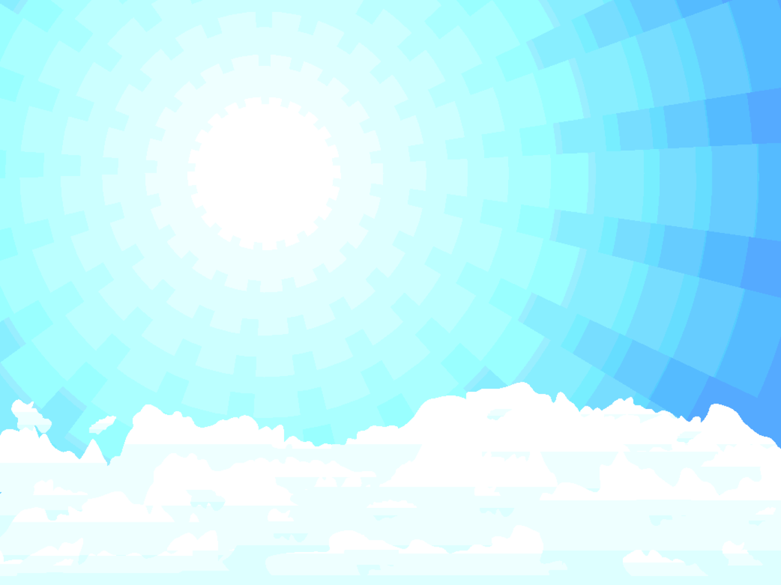 Blue Sky Illustration