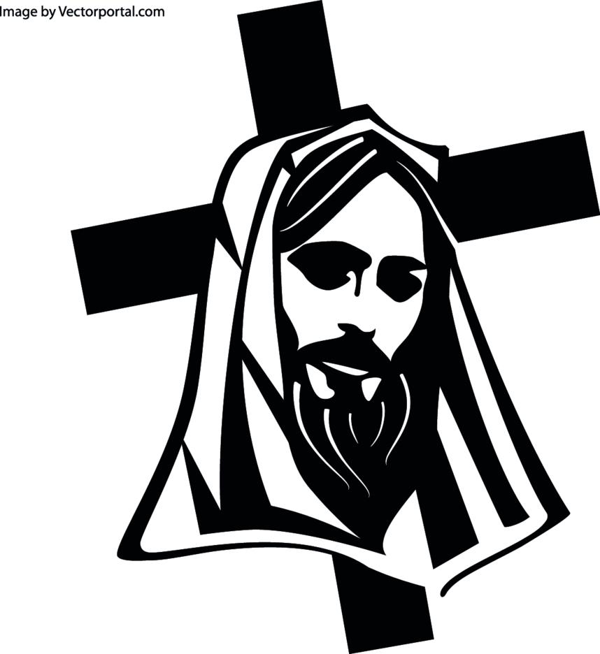 Jesus Christ Cross Vector