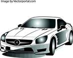 Mercedes Car Vector Image