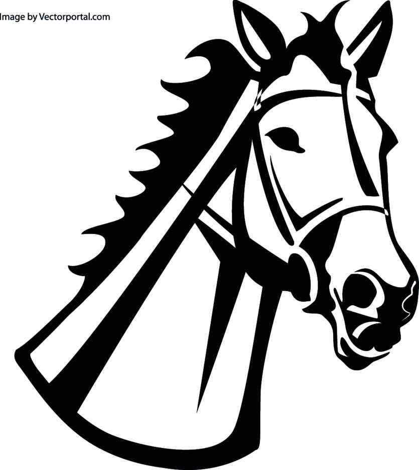 Horse Vector Image VP 1