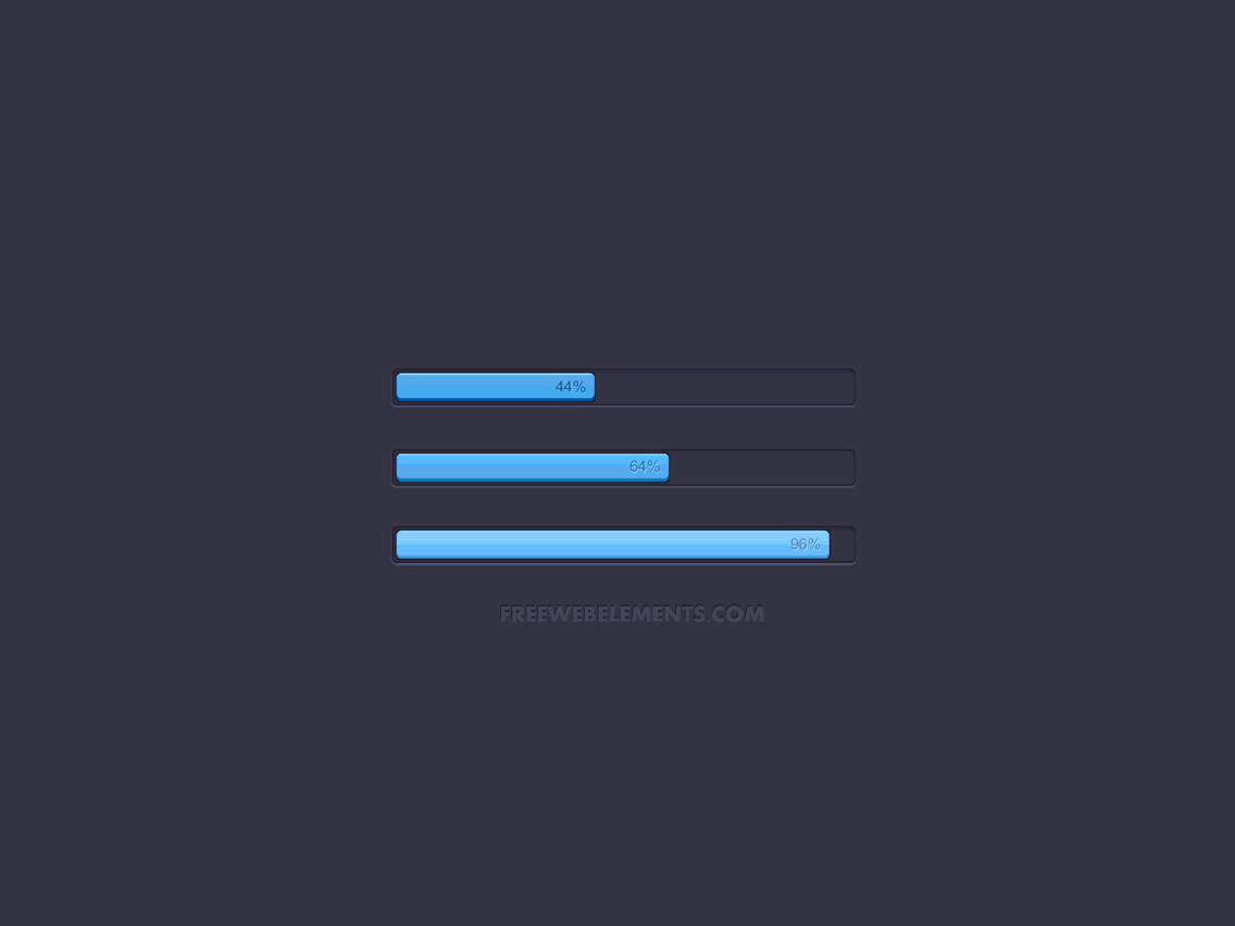 Loading Bar Design