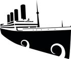Titanic Vector Image