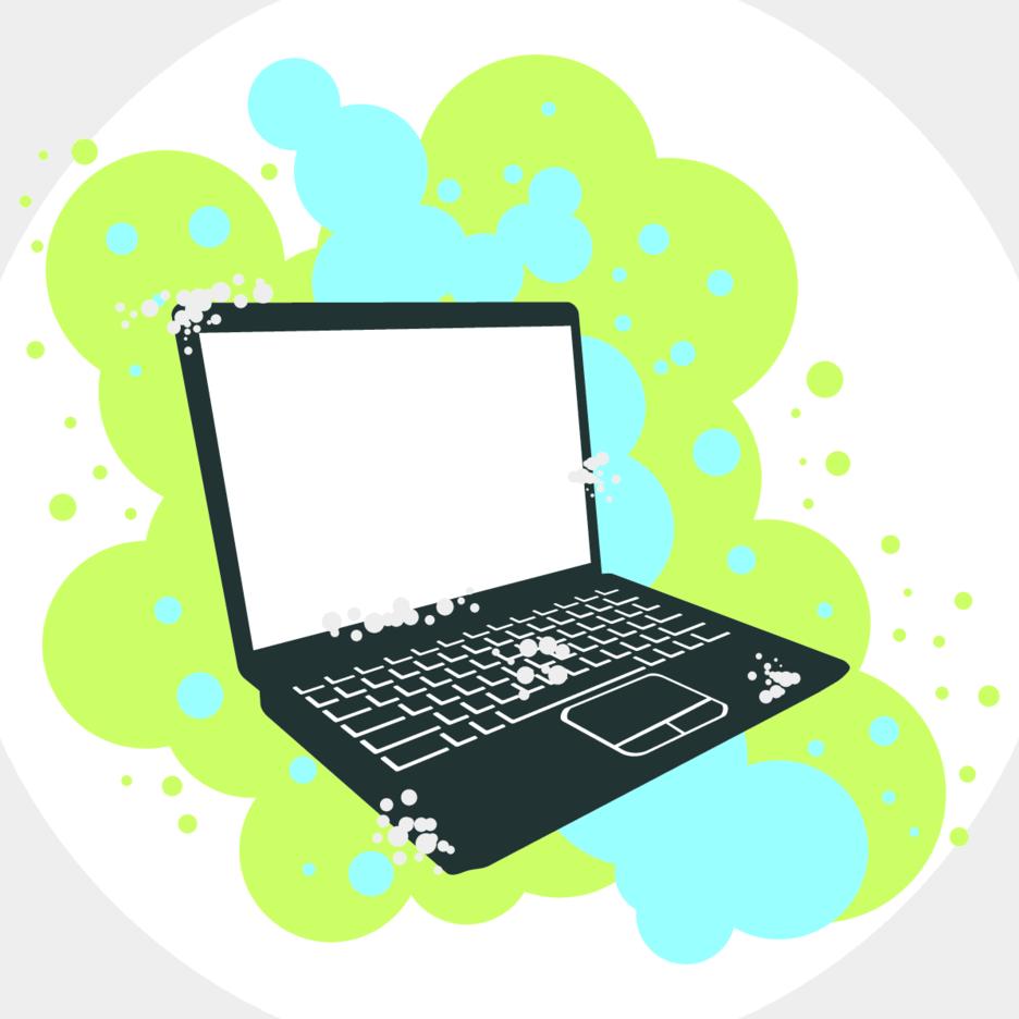 Grunge Laptop