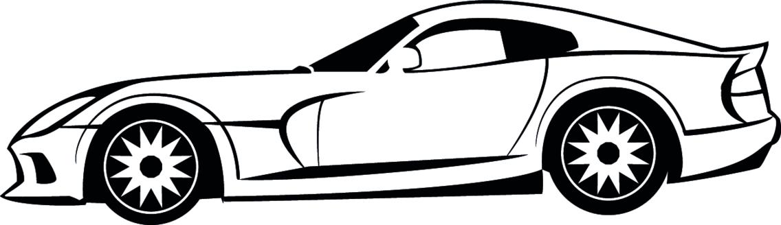 Viper Dodge Vector Image