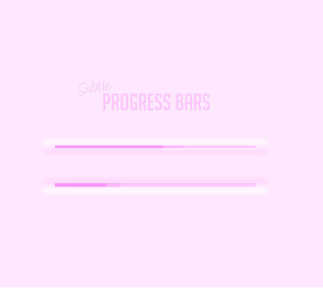 Free Vector Progress Bar