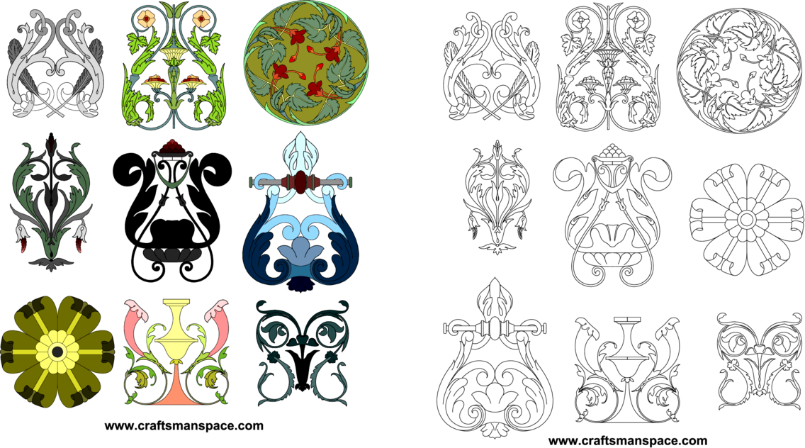 Cusacks Freehand Ornament Patterns