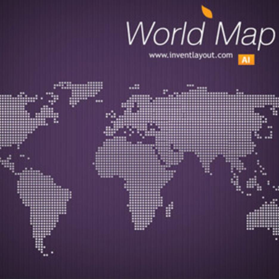 World Map Vector -1