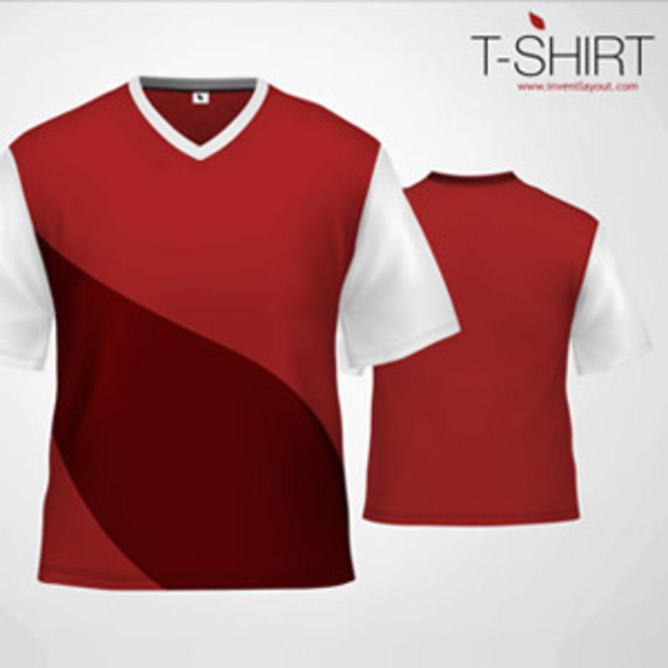 T-Shirt Template - 1