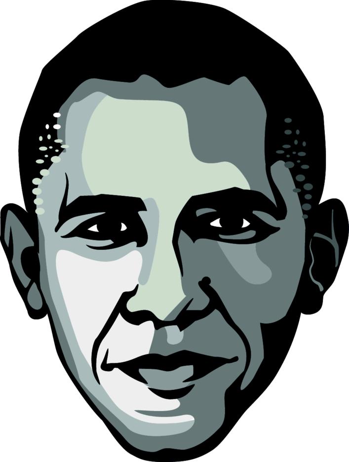 Barack Obama Vector