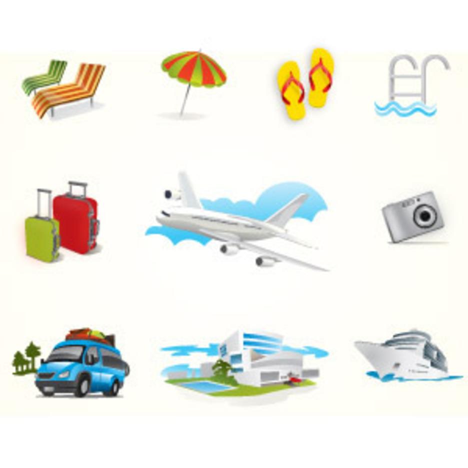 Holiday Travel Elements