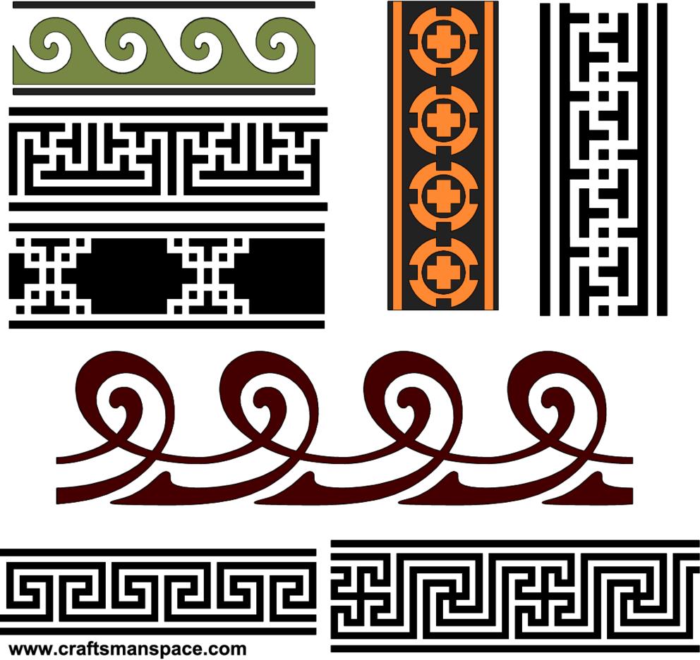 Band Vector Patterns