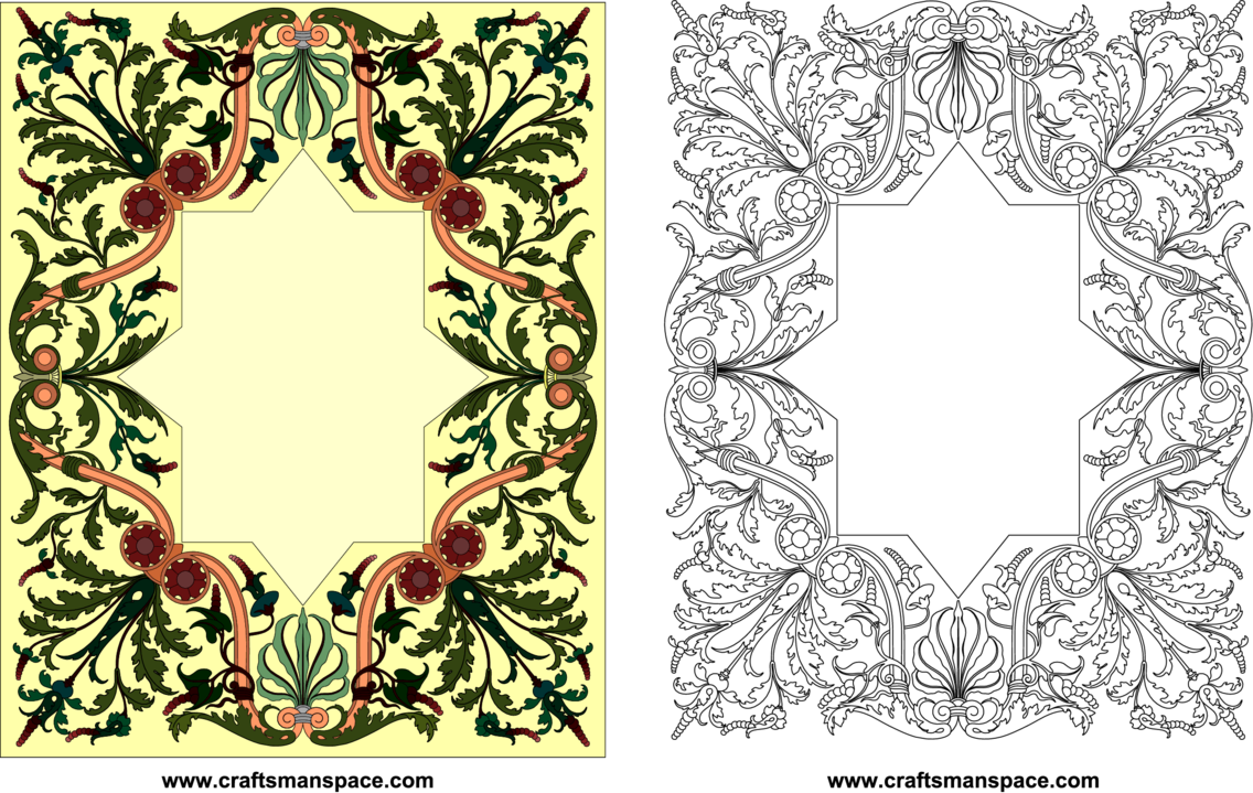 Inlay Ornamental Design 1