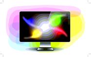 Free Vector LCD Monitor
