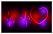Heartbeat Vector Background