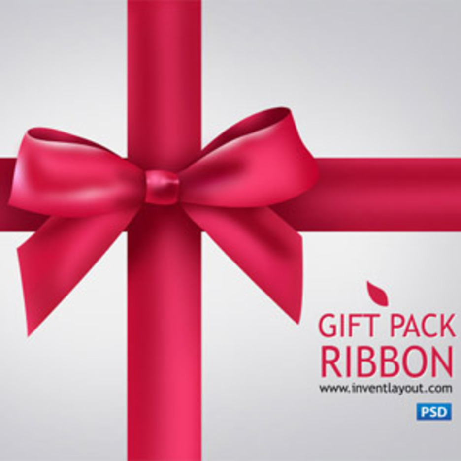 Gift Pack Ribbon