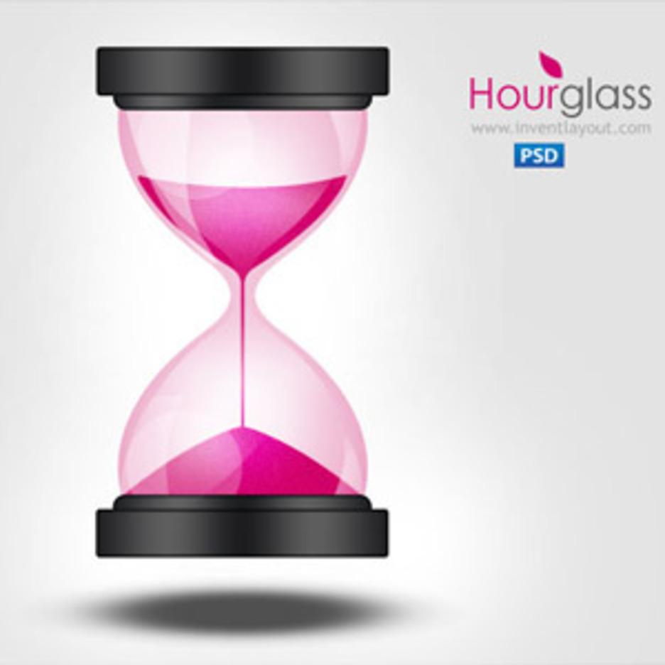 Sand Clock  Hourglass Icon