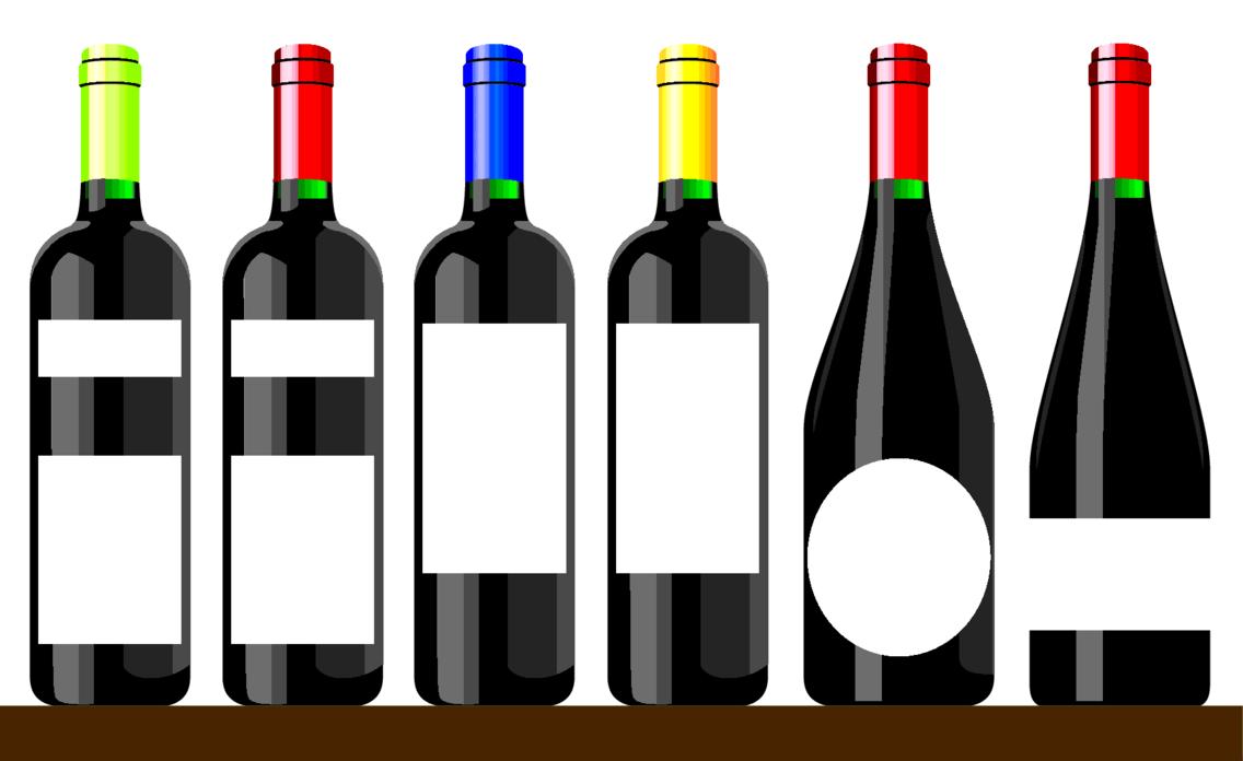 Wine Bottle Vectors