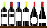 Wine Bottle Vectors