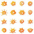 Sun Logo Elements
