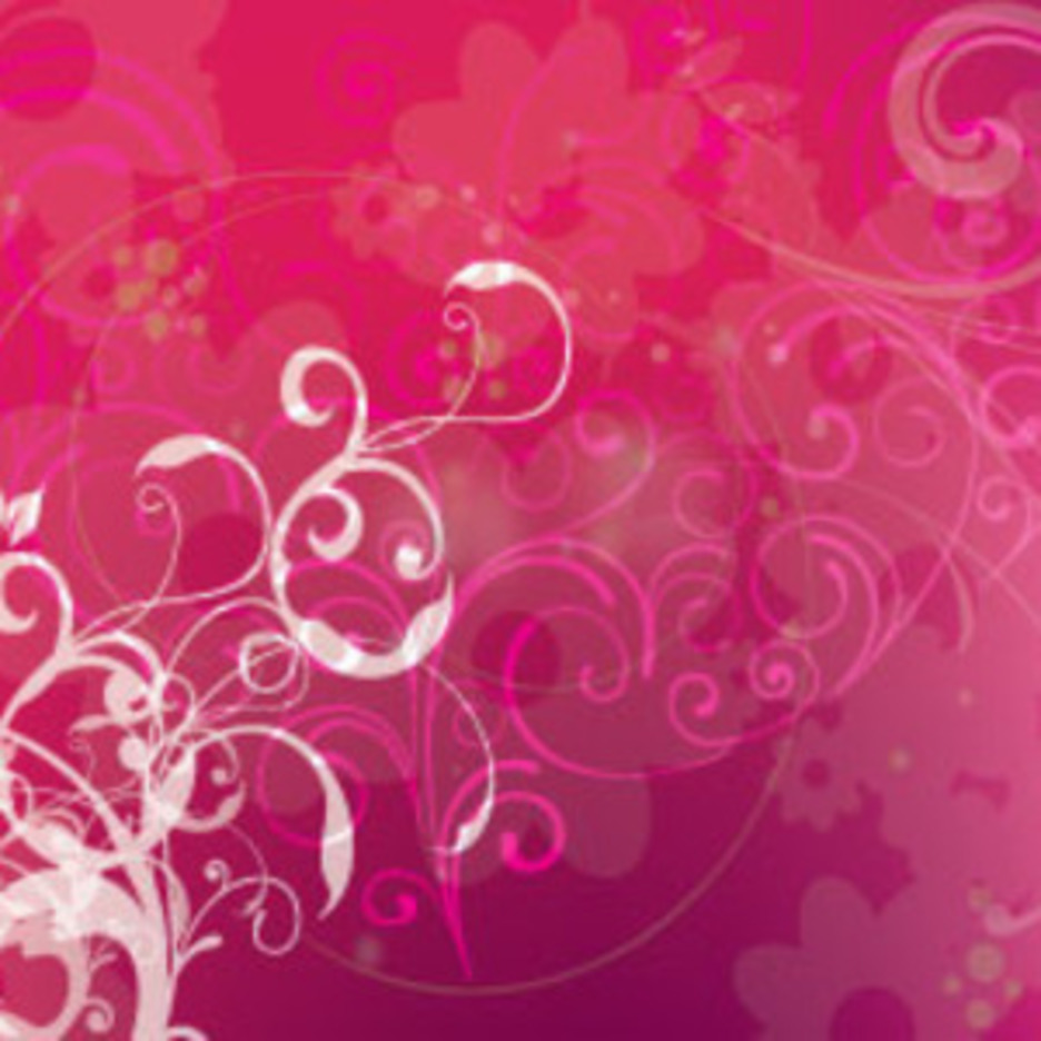 Bettwin Pink And Swirls Vector Design