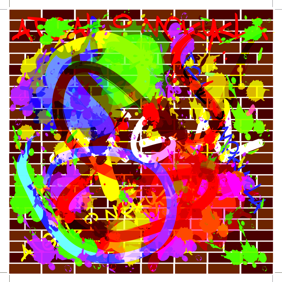 Asbtract Graffiti Free Vector