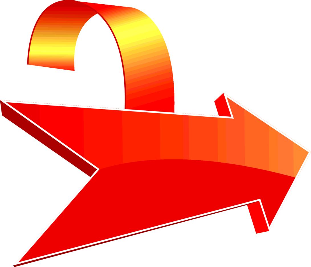 Red Vector Arrow Label